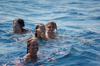 Swimming in the Aegean Sea - Marguerite Vera