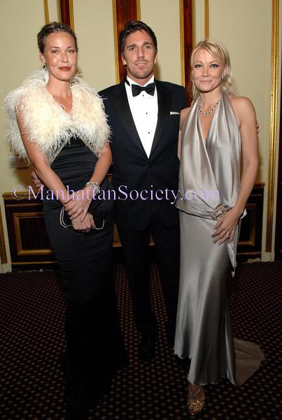 NEW YORK-DECEMBER 5: Connie Nielsen, Henrik Lundqvist & Malena Belafonte attend American Scandinavian Society's Christmas Ball 2008 Honoring Henrik Lundqvist and Connie Nielsen at its Ball of the Century at The Metropolitan Club, 1 East 60th Street, New York City, on  Friday, December 5, 2008 (Photo Credit: Christopher London/ManhattanSociety.com)