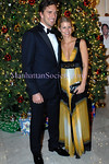 NEW YORK-DECEMBER 5: Henrik Lundqvist and girlfriend Therese attend American Scandinavian Society's Christmas Ball 2008 Honoring Henrik Lundqvist and Connie Nielsen at its Ball of the Century at The Metropolitan Club, 1 East 60th Street, New York City, on  Friday, December 5, 2008 (Photo Credit: Christopher London/ManhattanSociety.com)