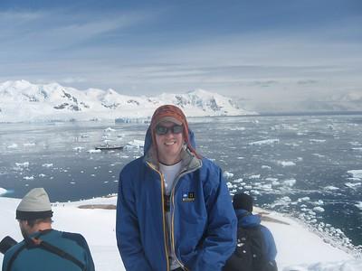 Andrew at Meko Harbor - Andrew Gossen