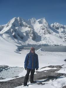 Andrew at Peterman Island - Andrew Gossen