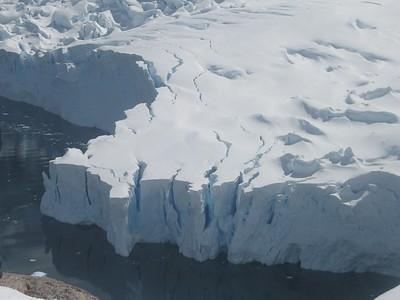 Glacial wall, Meko harbor - Andrew Gossen