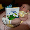Already a bookworm!