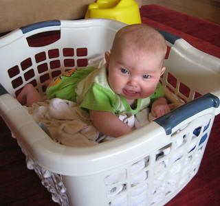 No Grandma, I don't do laundry!