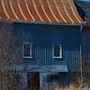 Barn with Rusted Roof<br /> Love the colors