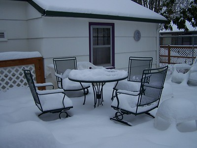 This shows how much snow we got during Arctic Blast 2008