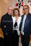 "Edward Bennett, Arianna Huffington & Dusty Wright at the home of Edward Bennett to celebrate the publication of her new book ""Right Is Wrong"""