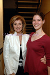 """Arianna Huffington & NYC based writer/blogger <a href=""""http://www.huffingtonpost.com/jennifer-treuting/#blogger_bio""""target=""""_blank"""">Jennifer Treuting</a>. Click on the link and check out Jennifer's columns regularly if you want more insight into whether superdelegates are breaking for Obama or Hillary."""