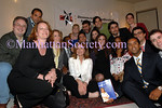 Arianna Huffington with members of DL21C--Democratic Leadership for the 21st Century of New York