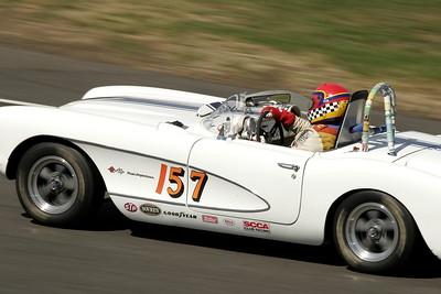 Art Redford's 57 Corvette