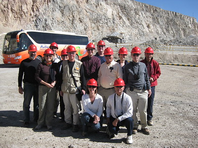 PJ at World's Largest Copper Mine - Kimberly Collins