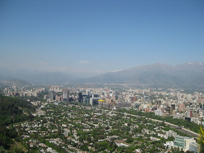 View of Santiago - Kimberly Collins