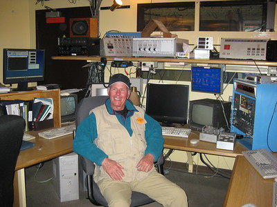 John working Command Central at Tololo - Kimberly Collins