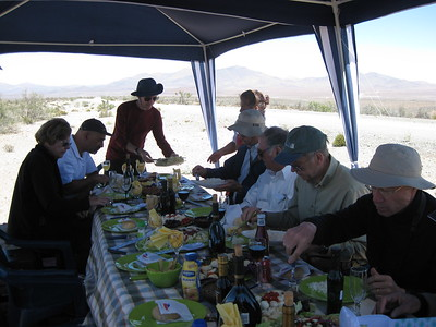 Lunch on our way to Las Campanas Observatory - Kimberly Collins