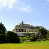 "Jamestown Sunday 8-24-08 Wetherledge  <a href=""http://wetherledge.com"">http://wetherledge.com</a><br /> <br /> The Main House from the back lawn. This property looks directly across the East Passage of Narragansett Bay to Hammersmith Farm - where we were married 26 years ago. It sits above Fort Wetherill and was once the Officers Club for the fort when it was functioning."