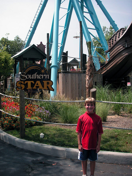 Anthony tackles the Southern Star