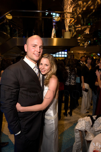 (Denver, Colo., Feb. 1, 2008)<br /> Matt Holliday (Colorado Rockies baseball player) and his wife, Leslee.  Denver Magazine launch party at the Cable Center in Denver, Colo., on Friday, Feb. 1, 2008.<br /> STEVE PETERSON