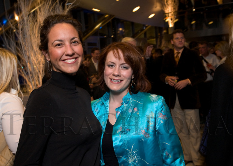 (Denver, Colo., Feb. 1, 2008)<br /> Becky Lathrop, Director of Marketing and PR for Opera Colorado with<br /> Jennifer Schiavone, Public Relations Director for the City of Denver Theatres & Arenas Division.  Denver Magazine launch party at the Cable Center in Denver, Colo., on Friday, Feb. 1, 2008.<br /> STEVE PETERSON