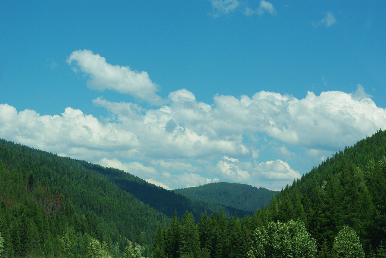 Idaho is pretty.