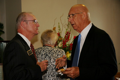 A reception held for the Society of the Arch in Fireside Lounge within the Dover Campus Center; August 28, 2008.
