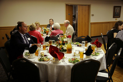 University Club dinner held in Ritch Banquet Hall; August 28, 2008.