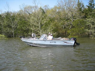 BRANSON FISHING TRIP APRIL 2008