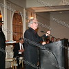City of Newburgh Mayor Nicholas Valentine accepts his award during the Black and Hispanic Coalition's 13th Annual Fund Raiser and Dinner Dance at Anthony's Pier 9 on October 31, 2008.