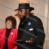 Edward Winfield, Jr present City of Newburgh Councilwoman Regina Angelo with her award during the Black and Hispanic Coalition's 13th Annual Fund Raiser and Dinner Dance at Anthony's Pier 9 on October 31, 2008.