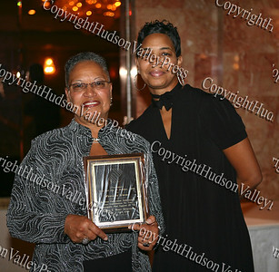 Henrietta Warner with her daughter Tara Miller after being honored at the Glenn Hines Boys & Girls Club 1st Dinner Dance held at Anthony's Pier Nine in New Windsor on Friday, October 3, 2008.