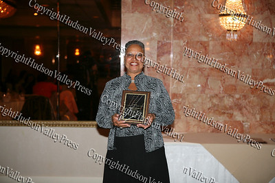 Henrietta Warner after being honored at the Glenn Hines Boys & Girls Club 1st Dinner Dance held at Anthony's Pier Nine in New Windsor on Friday, October 3, 2008.