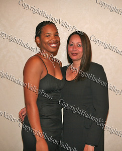 Ms. Staples and Ms. Banks at the Glenn Hines Boys & Girls Club 1st Dinner Dance held at Anthony's Pier Nine in New Windsor on Friday, October 3, 2008.