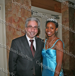 City of Newburgh Mayor Nicholas Valentine and Glenn Hines Boys & Girls Club 2008 Youth of the Year Dotrine Jacobs at the Glenn Hines Boys & Girls Club 1st Dinner Dance held at Anthony's Pier Nine in New Windsor on Friday, October 3, 2008.