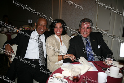 Attendees of Latinos Unidos of the Hudson Valley's Third Annual Hispanic Heritage Cultural Celebration held at Anthony's Pier 9 on Friday, October 17, 2008.