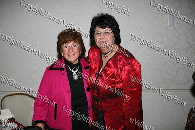 Councilwoman Regina Angelo and Joanne Lugo.
