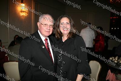 Sen William Larkin and Annette Marzan