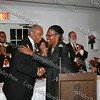 Jim Moss is presented an NAACP award on behalf of the Greater Hudson Valley Family Health Center by Tiombe Tallie Carter at the NAACP Freedom Fund Banquet held at the Spruce Lodge in Montgomery on Saturday, October 4, 2008.