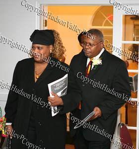 Mrs. and Rev. Byron Williams at the NAACP Freedom Fund Banquet held at the Spruce Lodge in Montgomery on Saturday, October 4, 2008.