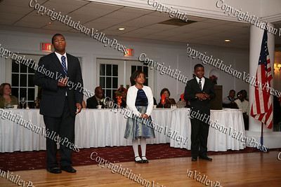 Voices of Glory perform during the NAACP Freedom Fund Banquet held at the Spruce Lodge in Montgomery on Saturday, October 4, 2008.