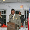Elder Thermond Herring, pastor of Mt. Carmel Church in the Town of Newburgh offers a prayer during the NAACP Freedom Fund Banquet held at the Spruce Lodge in Montgomery on Saturday, October 4, 2008.