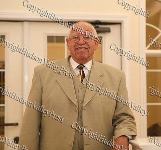 Former Newburgh/Highland Falls Chapter NAACP President Chester Johnson at the NAACP Freedom Fund Banquet held at the Spruce Lodge in Montgomery on Saturday, October 4, 2008.