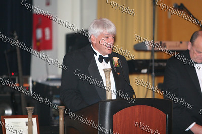 Honoree Jim Smith, who was one of the recipients of the Lifetime Achievement Award, at the 9th Annual Pillars of the community Gala held at Anthony's Pier 9 on Saturday, November 8, 2008.