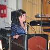 Linda Muller, President and Chief Executive Officer of the Greater Hudson Valley Family Health Center, welcomes everyone to the 9th Annual Pillars of the Community Gala held at Anthony's Pier 9 on Saturday, November 8, 2008.