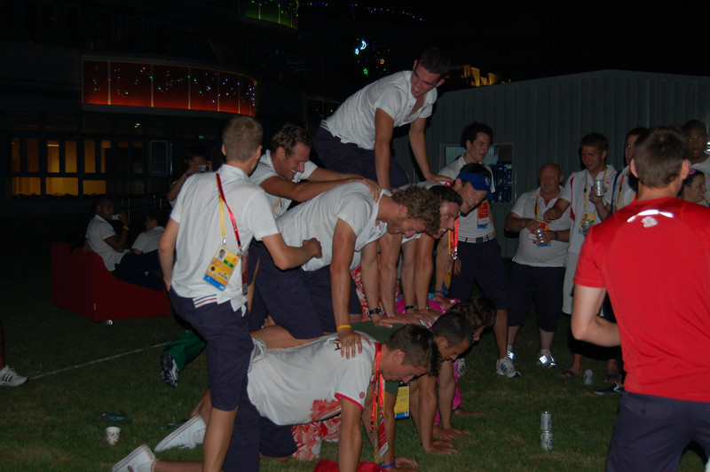 Team GB pyramid