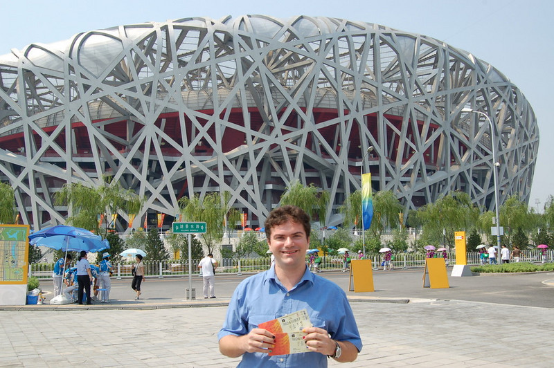 Matt at the Bird's Nest