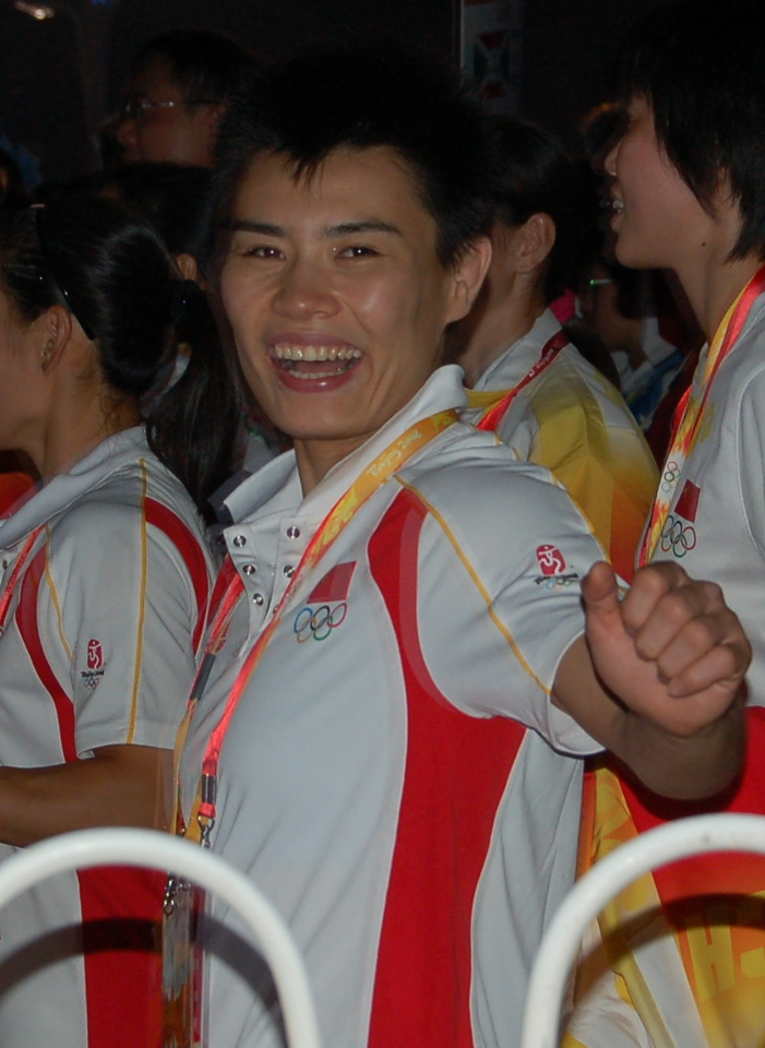 China athlete