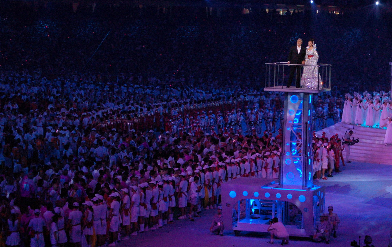 Inside the closing ceremony ;)