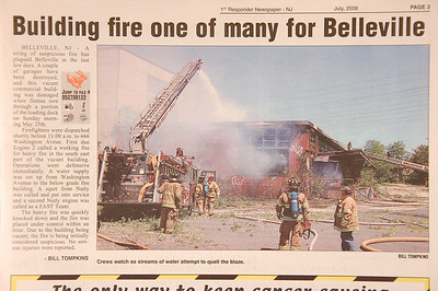 1st Responder Newspaper - July 2008