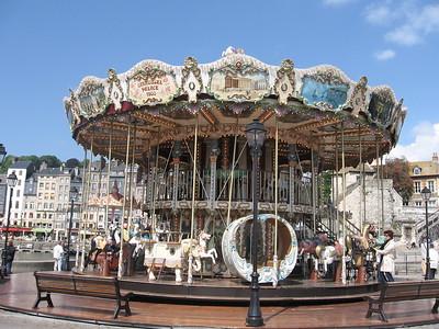 Carousel in Honfleur - Lydia Osborne