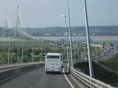 Bridge on way to Honfleur - Lydia Osborne