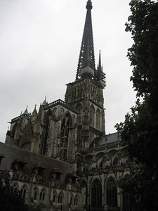 Cathedral in Rouen - Lydia Osborne